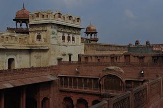 Photo: Palais de Bikaner - on distingue 2 époques dans la construction