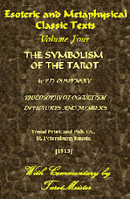 Cover of Pyotr Demianovich Ouspenskii's Book The Symbolism Of The Tarot