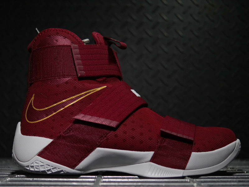 8c12d6fc4d20 ... Nike LeBron Soldier 10 below. Detailed Look at Soldier 10 CTK T  Thompson Edition Rocked by LBJ ...