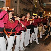 XVI Diada dels Castellers de Lleida 23-10-10 - 20101023_158_grallers_CdL_Lleida_XVI_Diada_de_CdL.jpg