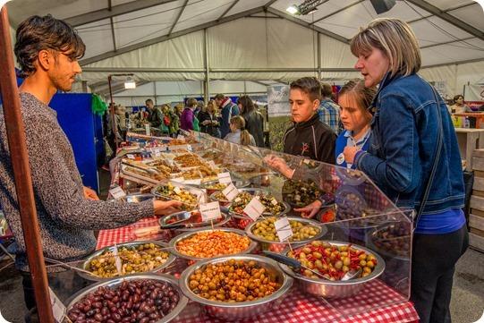 2 - Nantwich Food Festival food stalls