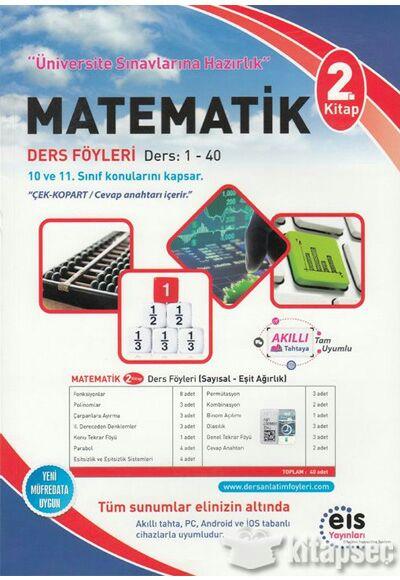 Eis Yayınları Matematik 2.Kitap Ders Anlatım Föyü