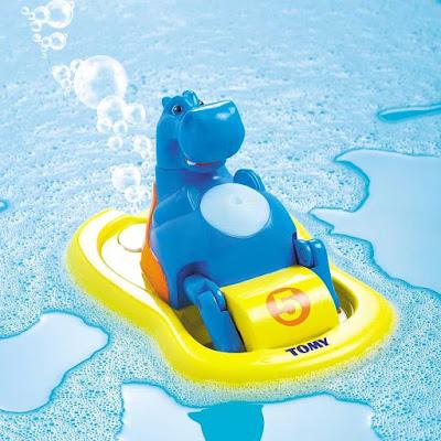 Đồ chơi Hà mã đạp nước Hippo Pedalo Tomy
