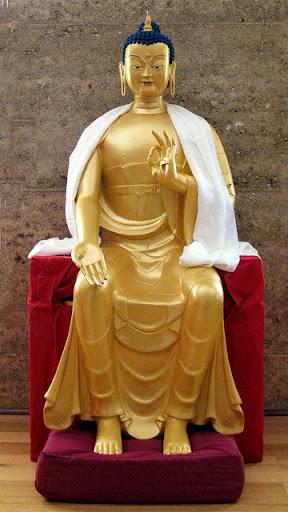 Maitreya Statue at Thubten Shedrub Ling, Victoria, Australia, April 2012