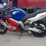 Yamaha Fazer & Honda 600x transportēšana