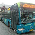 Mercedes Citaro van Connexxion bus 9130 met lijn1 naar Almere-Buiten Stripheldenbuurt oost