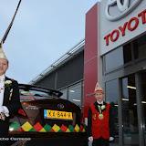 14-01-2017 Prinsen  auto Jim I , bezoek bij Harry MaasRoland Oostwegel,Leo K.inschrijving optochten