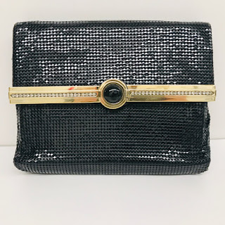 Whiting & Davis Vintage Chain Mesh Clutch