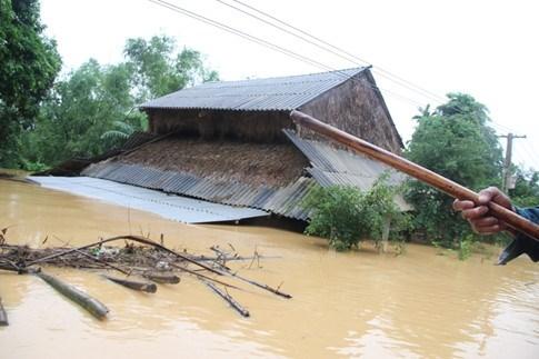 Thơ thương lắm miền trung lũ lụt