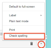 Gmail spell check not working