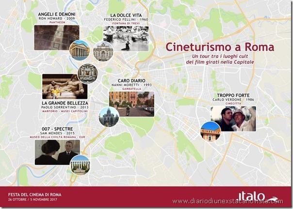 Film ambientati a Roma cineturismo Festa del Cinema 2017