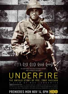 image of poster for Underfire The Untold Story of Tony Vaccaro film