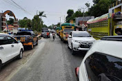 Polres Majene Kawal Ketat Setiap Rombongan Bantuan Logistik  Yang Melintas