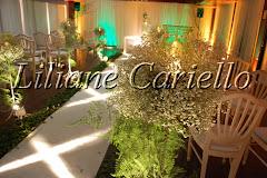Fotos de decoração de casamento de Casamento Marilene e Antonio Carlos no Marina Barra Clube da decoradora e cerimonialista de casamento Liliane Cariello que atua no Rio de Janeiro e Niterói, RJ.
