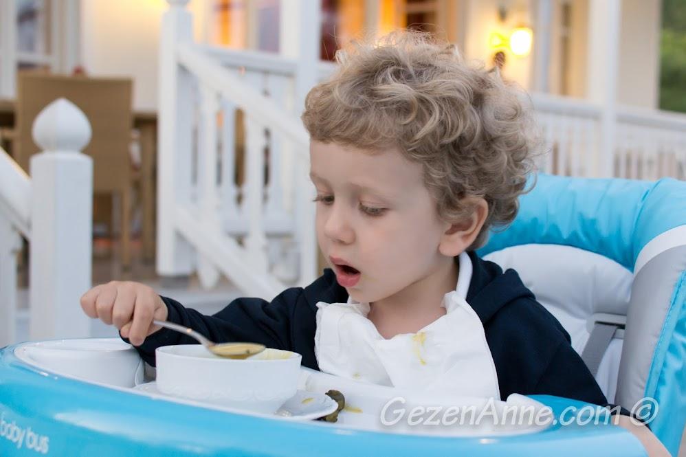 Yemek yerken, Limak Yalova Butik Otel