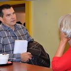 Bruno BOUDIER (Directeur Fondation Bartimée) en pleine discussion
