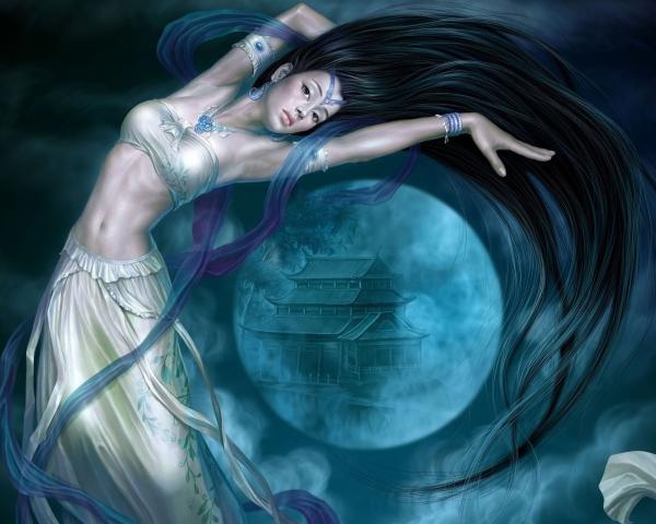 Magic Of Beautiful Magician, Moon Magic