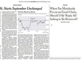 Pourquoi le New York Times a publié un article avec un seul mot.