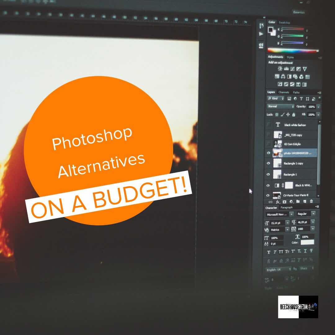 Photoshop Alternatives on a Budget
