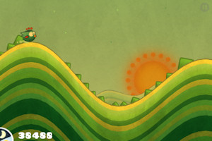 Tiny Wings app 'I won't let the sun go down on me'