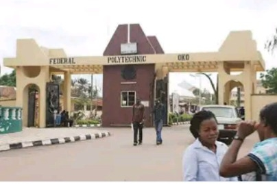 Federal Polytechnic , Oko Release 2nd Batch HND Admission List For 2020/ 2021 Session