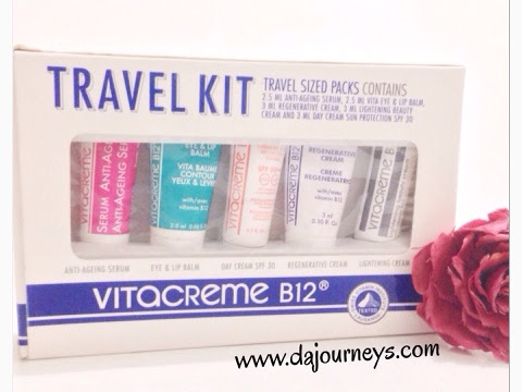 [First Impression] Vitacreme B12 Travel Kit
