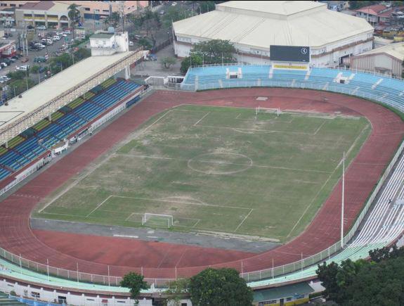 Stadium tempat berlangsung perlawanan Malaysia vs Filipina