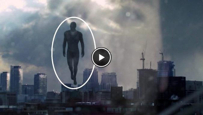 Humanóides voadores não identificados