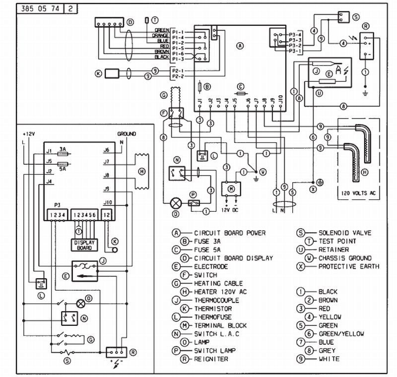 Dometic Rv Thermostat Wiring Diagram Dometic RV Thermostat
