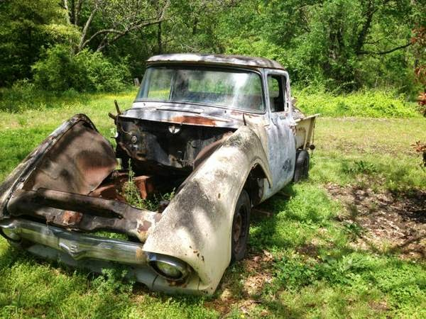 1956 F100 Explorer Chassis Swap | Ford Explorer and Ford