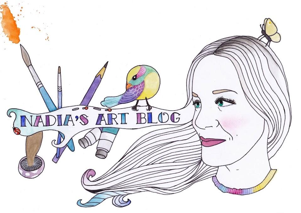 Nadia's Art Blog