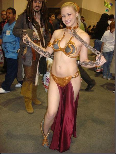 Princess Leia - Golden Bikini Cosplay_865825-0028