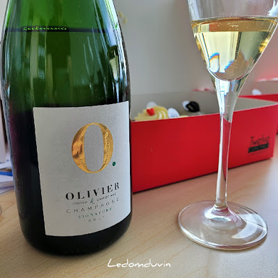 """Bruno and Christiane Olivier Champagne """"Signature"""" Brut by ©LeDomduVin 2021"""