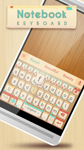 Notebook Keyboard Theme