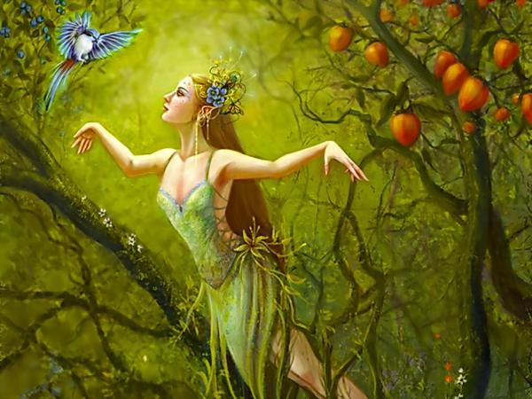 Elegant Faerie Of Heaven, Fairies 3