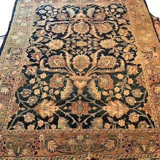 Wool Floral Area Rug #2