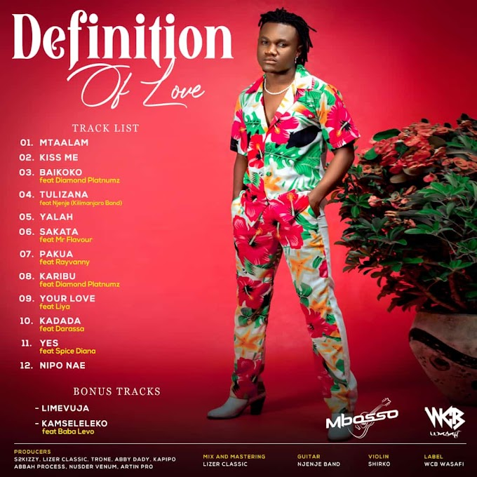 ALBUM | Mbosso - Definition Of Love