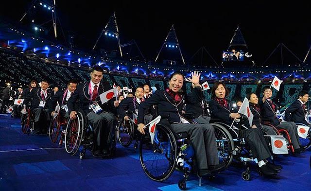 китайские паралимпийцы