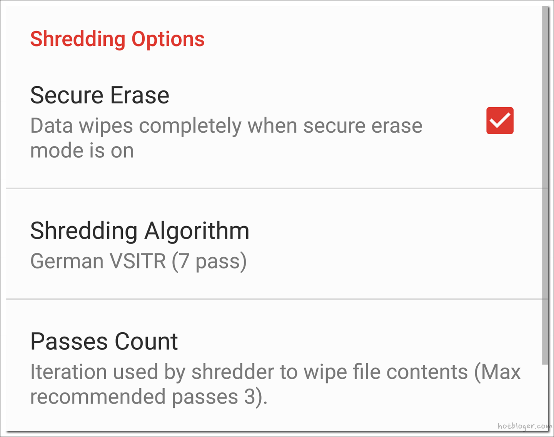 shreddit-data eraser (데이터 완전삭제 어플)