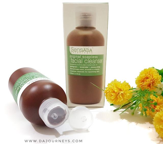 [Review] Sensatia Botanicals Original Soapless Facial Cleanser