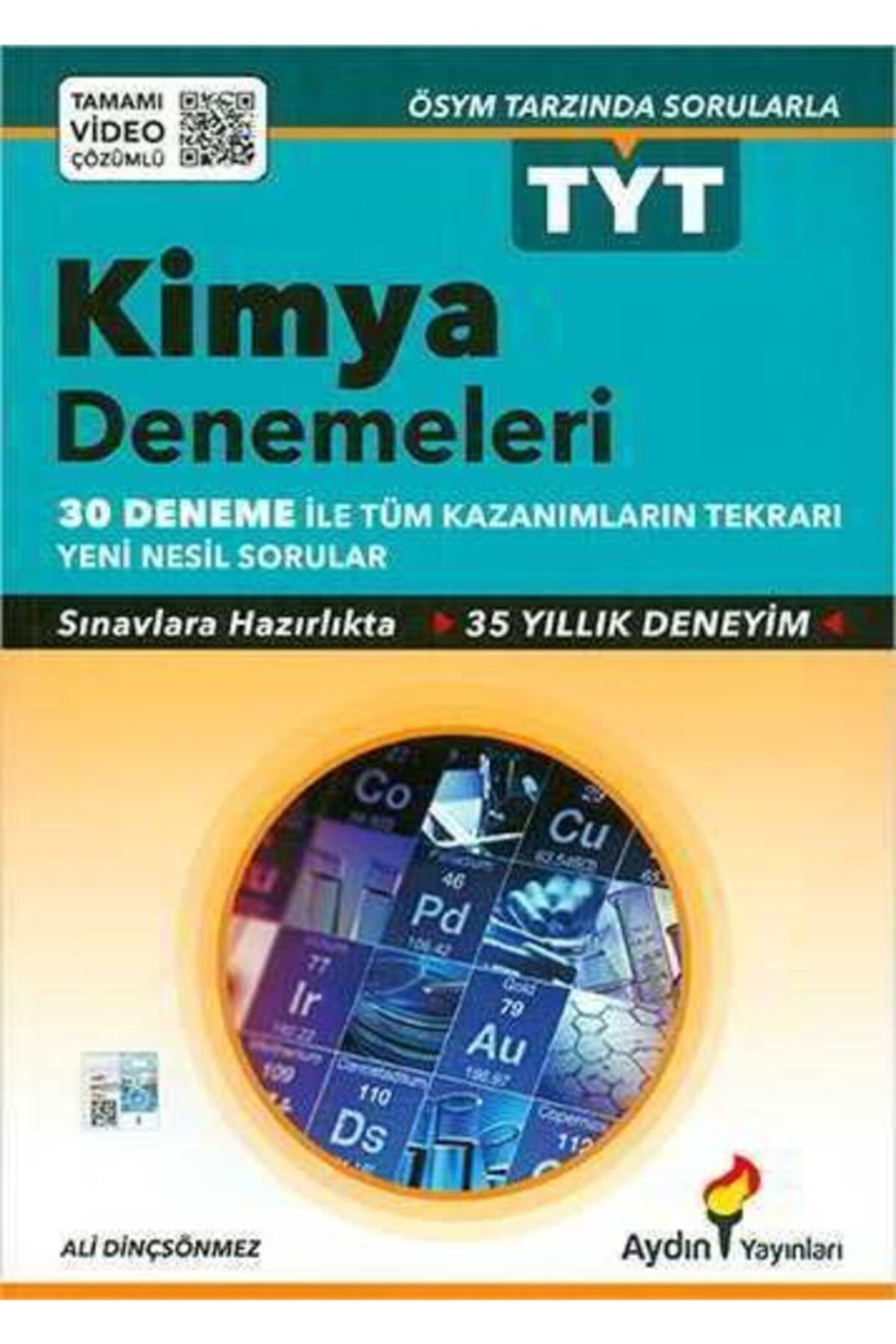 Aydın Yayınları - TYT Kimya - 30'lu Deneme