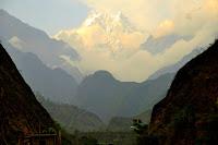 Wicked peaks from Tatopani