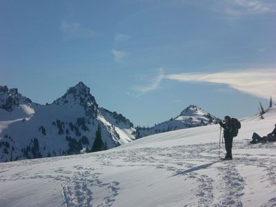 Castle, Pinnacle and Plummer Peak