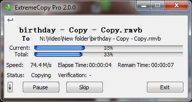 ExtremeCopy 2.3.4 Pro (x86/x64) [Multi] - Copia archivos ocho veces m�s r�pido