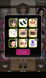 Click to Enlarge - Style Me Girl Level 16  - Princess - Alexis - Closet