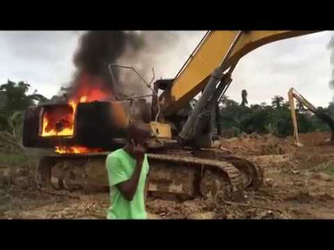 Address 'Burnt Excavators' Or We Hit The Streets – Small Scale Miners To Gov't