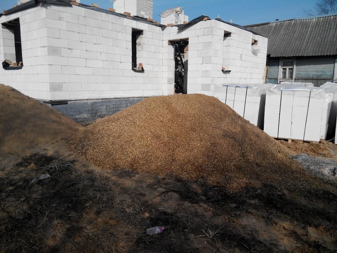 тонна песка и куб песка