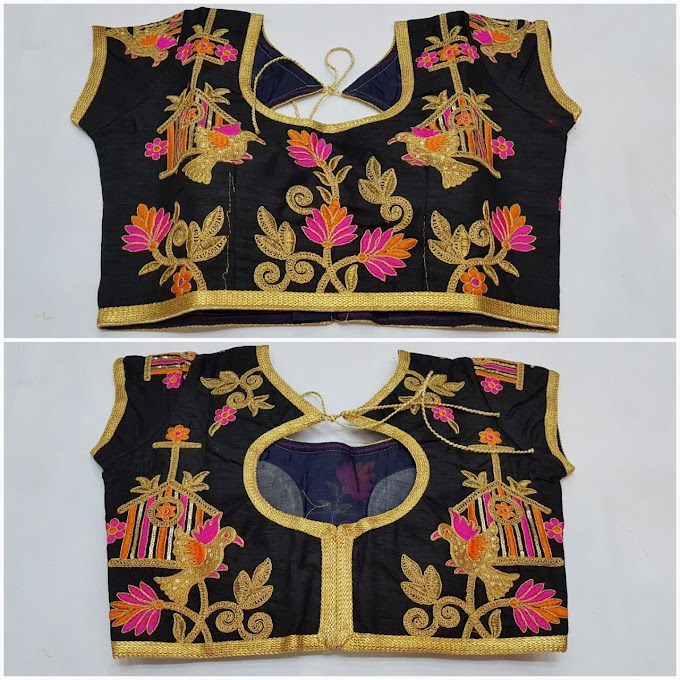 New Blouse Designs by top designer  Zari