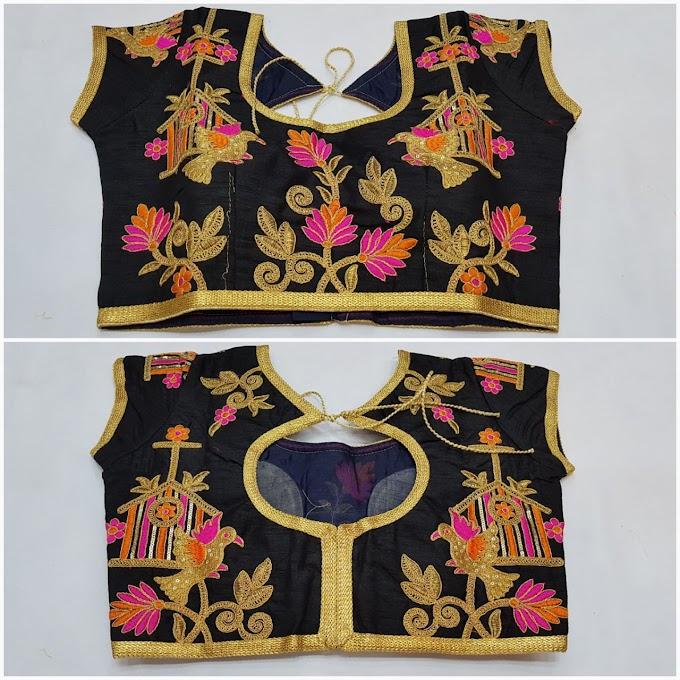 New Blouse Designs by top designer  Zari