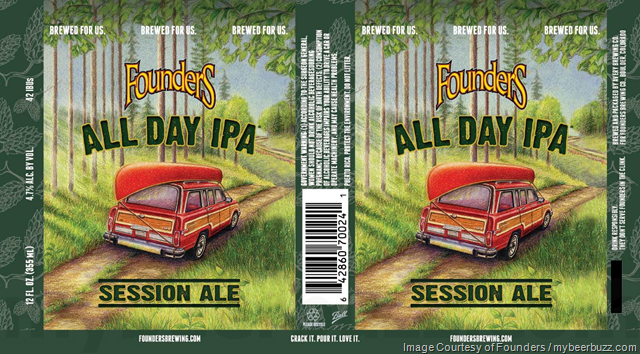 Founders All Day IPA Being Brewed By Avery